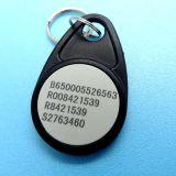 カスタマイズされたロゴの印刷MIFARE標準的な4K RFID Keyfob/Keychain/Keyの札