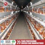 Поднимать клетки батареи цыплятины слоя цыпленка оборудования