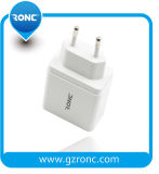 4 USB를 가진 매우 Compact 유럽 Travel Adapter Ports Wall Charger Power Adapter