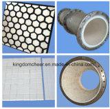La placa de desgaste (92% y 96% de cerámica alúmina el tubo o conducto)