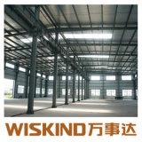 El bastidor de la estructura de acero galvanizado en caliente para el taller y almacén