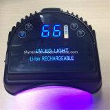Haut de la batterie rechargeable Séchoir a ongles 66W à LED Lampe UV Ongles