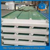 Теплоизоляция крыши из пеноматериала в формате EPS сэндвич панелей