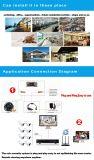 Câmera impermeável ao ar livre análoga do CCTV de HD 2.0MP (AHD/CVI/TVI/CVBS) 4 em 1