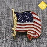 Conception de logo personnalisé de haute qualité drapeaux insigne mondial