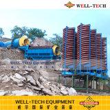 Extraction de sable de rivière de l'équipement Churt en spirale de Jiangxi en Chine