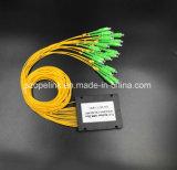 PLC van de Plastic Doos van Gpon Epon van de Kabel van de vezel 1X16 de Schakelaar van Scapc van de Splitser