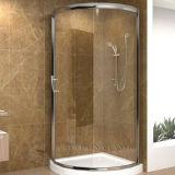 목욕탕 유리/샤워 문을%s 낮은 철 강화 유리