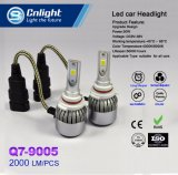 Cnlight Q7-9005 9006 9012 bulbo poderoso barato da recolocação do farol do carro do diodo emissor de luz da ESPIGA 4300K/6000K