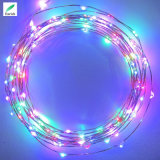 luzes feericamente solares 22m longas do fio de cobre do diodo emissor de luz de 12m 17m