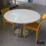 60cm runder fester Oberflächenesszimmer-Möbel-Tisch (T171128)