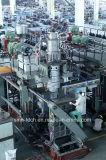 Barilotto chimico di plastica della macchina/220 litri dello stampaggio mediante soffiatura del timpano dell'HDPE 200L che fa macchinario