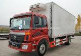 Foton 4X2 Nahrung erneuern LKW 8 Tonnen gekühlte Kasten-Lastwagen-LKW-