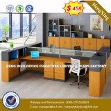 Muebles de oficinas de oficina del escritorio de la pierna moderna del metal (HX-8N0184)