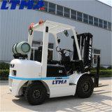 La Chine 2,5 tonne belle apparence de l'essence GPL du chariot élévateur