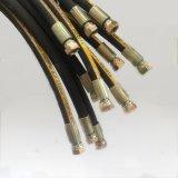 Pijp van de Hoge druk van de Olie van SAE R4 de Bestand Hydraulische Rubber