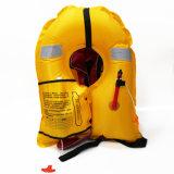 女性のための黄色い自動膨脹の救命胴衣
