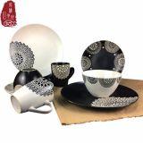 De promotie Mok van de Kom van de Plaat van het Vaatwerk van het Steengoed van de Gift Ceramische