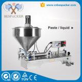 Пневматический тип машина завалки меда масла затира с подогревателем смесителя