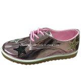 Женщин Hotsale ЭБУ системы впрыска для отдыхающих обувь PU обувь индивидуальные (YJ1216-15)