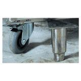 2 Glas-Tür-Gaststätte-Handelsgeräten-Edelstahl-Gefriermaschine