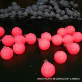 8 см RGB 3D DMX светодиодная лампа шарик String волшебная фонари