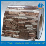 A bobina de aço Prepainted do Alu-Zinco no teste padrão camuflar para decora a aplicação