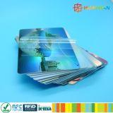 Mitgliedskarte mit dem personifizierten Förderungdrucken Plastik-RFID Chip intelligent