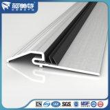Profilo di alluminio anodizzato d'argento 6063 T5 per la soglia