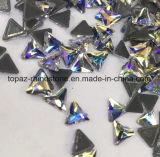 2018 новейший горячая продажа 5A треугольника горячей фиксации стекла Rhinestone Crystal Копировать Preciosa камня (HF-треугольник)