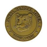 2018年によって個人化される金貨の金属のコイン・シルバーの硬貨
