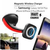 De nieuwste Lader van de Auto van de Plaats van het Windscherm Qi Magnetische Draadloze voor Samsung/iPhone