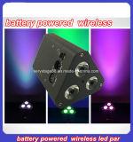 сила батареи 3X10W 4n1 RGBW/RGBA и беспроволочный свет РАВЕНСТВА СИД