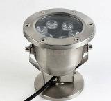 precio de fábrica al aire libre de alta calidad resistente al agua IP68 6W LED Luz subacuática