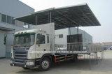 Hete Verkoop JAC 15 Ton Openlucht LEIDENE de Vrachtwagen van de Prestaties van het Stadium