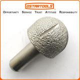 진공에 의하여 놋쇠로 만들어지는 다이아몬드 조각도