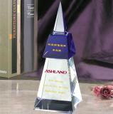 La llegada de nuevos logros de la moda trofeo de cristal personalizado K9 trofeo de cristal