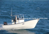 Liya 7,6 panga panga Bateaux de pêche Bateau Bateau de pêche en fibre de verre