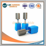 carbure de tungstène bavures rotatif CNC partie d'usure