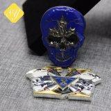 Dadi su ordinazione liberi della moneta del campione delle medaglie della moneta della Russia del metallo di prezzi di fabbrica