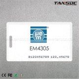 Tansoc RFID gedruckte Karte der Maschinenhälften-Karten-Zeit-Anwesenheits-RFID