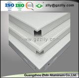 Suspensión acústica de alta calidad en el techo de aluminio para Metro