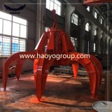La ferraille d'Orange hydraulique Grab Suppllier de godet