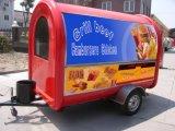 Grande capacité de Manufactory Food Van Trailer Cart à l'intérieur