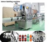 Terminar a máquina de enchimento do suco da polpa da fruta para o frasco do animal de estimação e o frasco de vidro