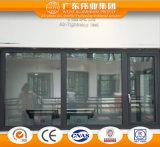 Rupture thermique Fenêtre à battant en aluminium