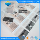 Impreso de color personalizado claro lindo paquete OPP bolsa