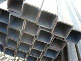 Câmaras de ar quadradas de aço galvanizadas/material de aço quadrado de seção transversal da câmara de ar