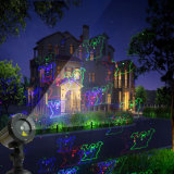 크리스마스 불빛 Laser 샤워 빛