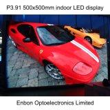 HD P4.81 500X1000mm屋内LED表示スクリーンはとのダイカストアルミニウムパネルを